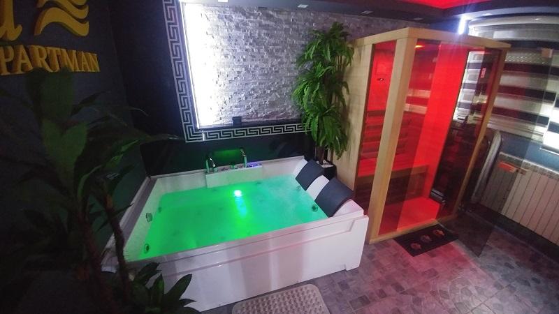 sauna djakuzi apartman beograd spa